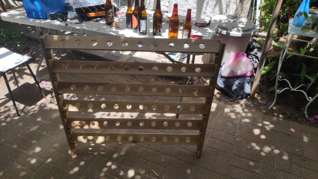 Bottle rack empty 2